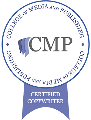 College of Media and Publishing Qualified Copywriter